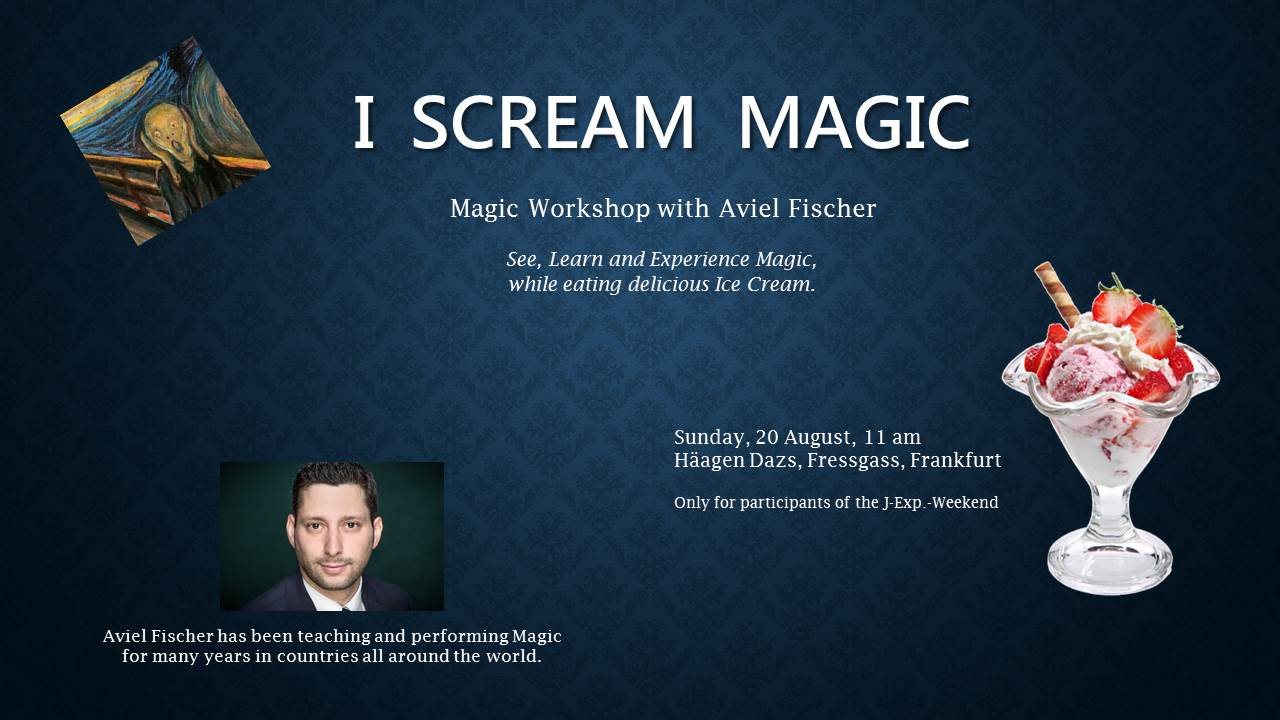 Workshop I Scream Magic
