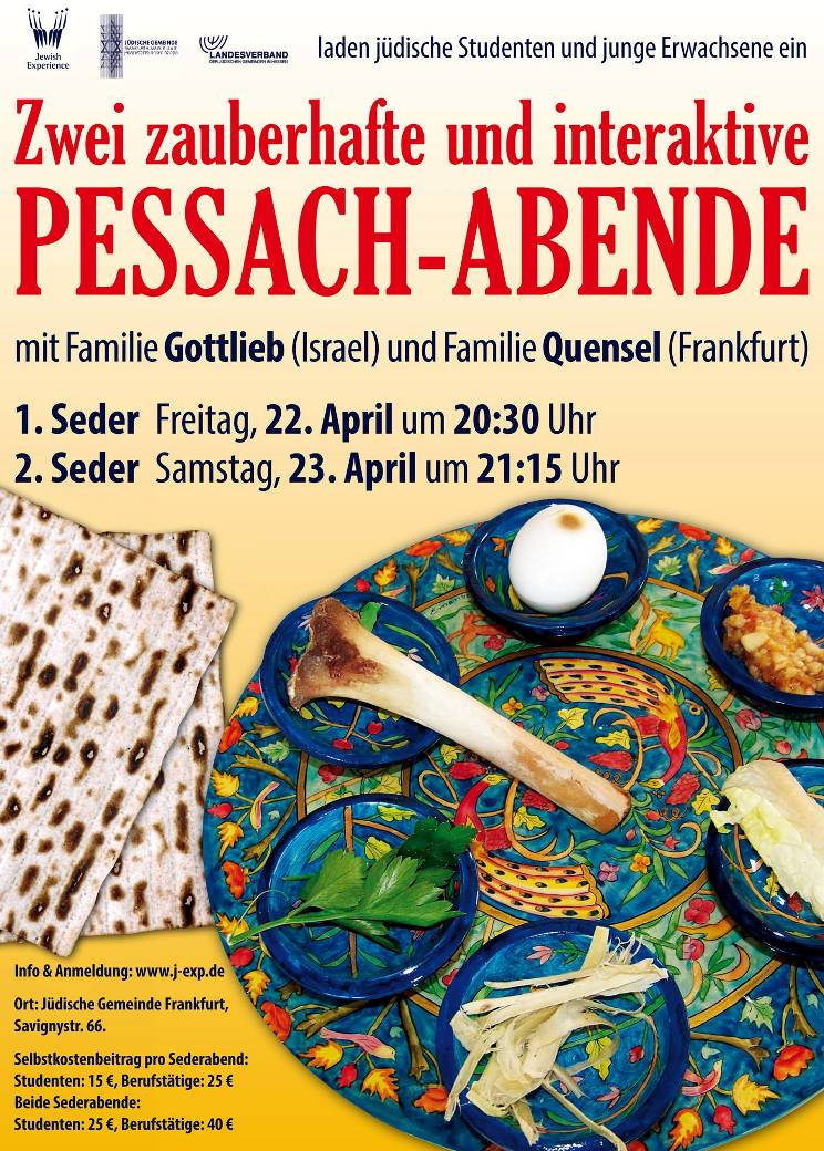 pessach abende gross