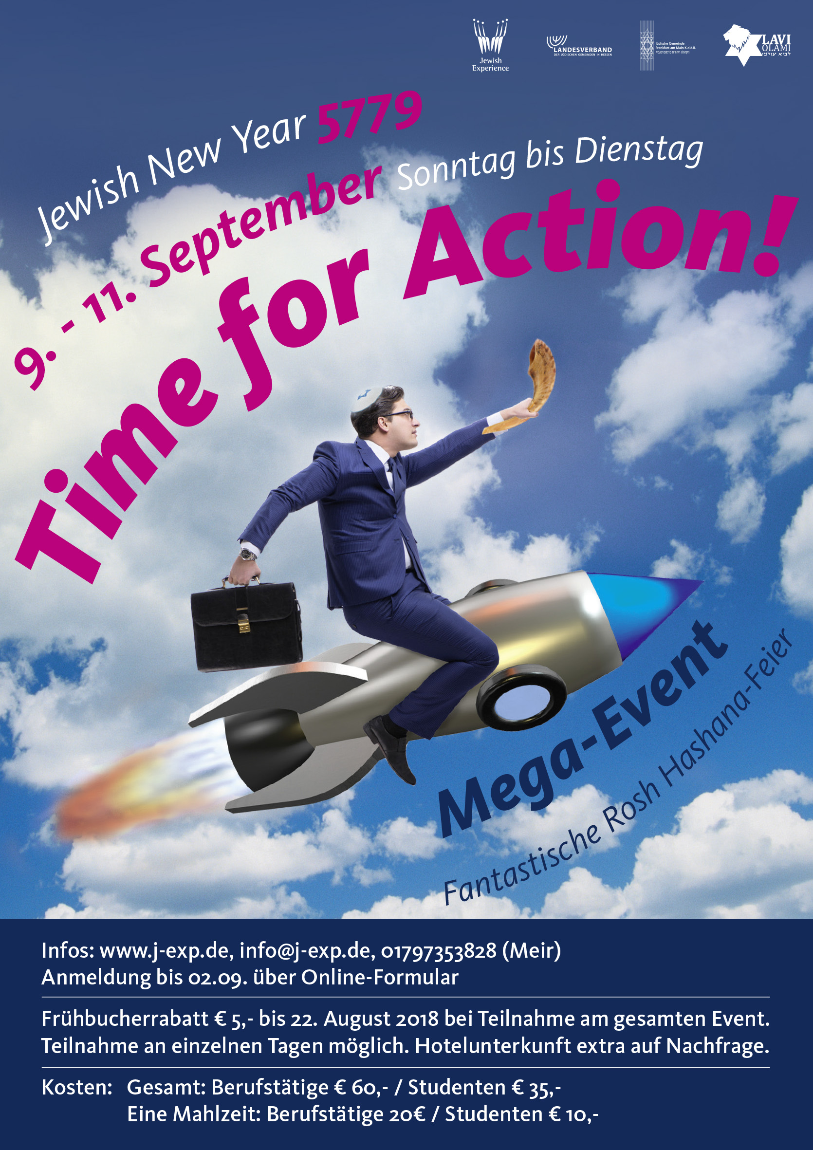 Time for Action Rosh haShana2018 4